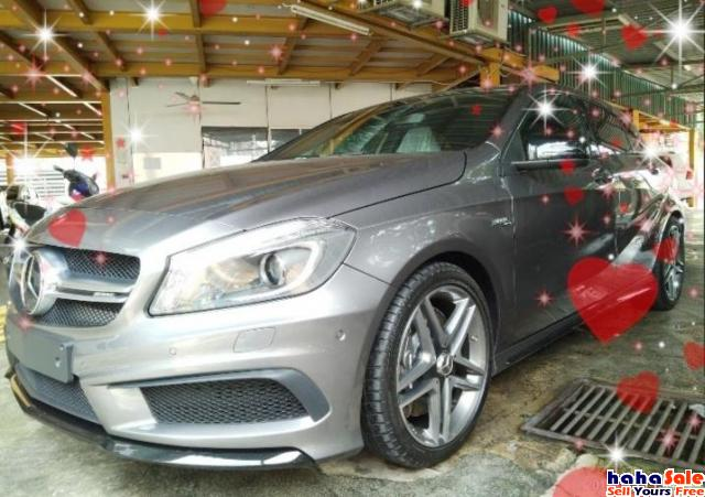 MERCEDES A45 AMG FROM~JAPAN✔ ON THE ROAD~RM249,888 2.48%~interest Cheras Kuala Lumpur | hahaSale