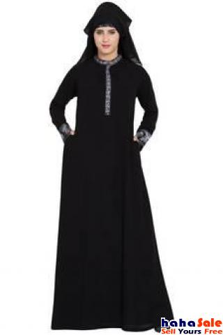 Checkout Nida Burqa with great designs for Muslim Women from Mirraw Cyberjaya Putrajaya | hahaSale
