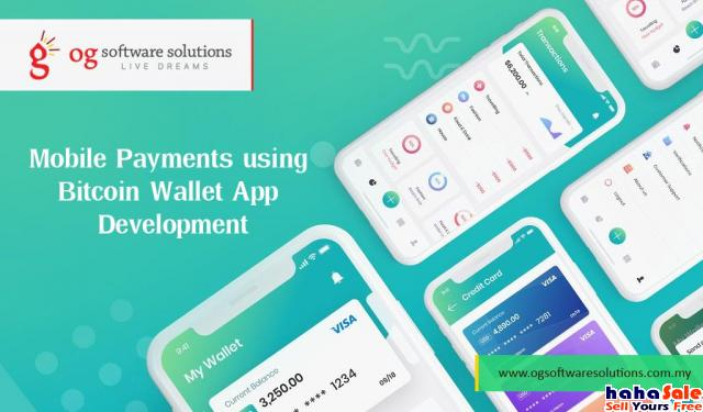 Mobile Payments using Bitcoin Wallet App Development-OG Software solutions malaysia Old Klang Road Kuala Lumpur | hahaSale