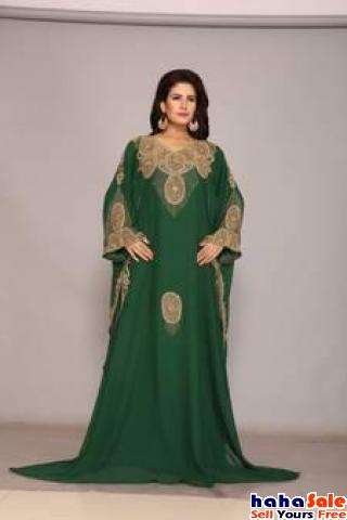 Order Now ! Green Kaftan with Discounts upto 60% at Mirraw Cyberjaya Putrajaya | hahaSale