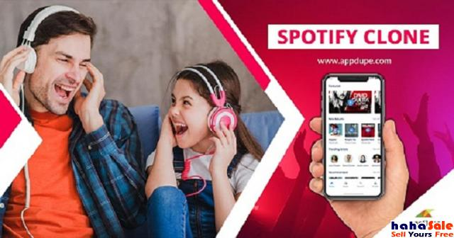 Earn high profits with our Spotify clone app Kaki Bukit Perlis | hahaSale