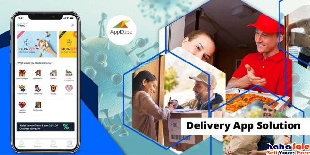 Create an on-demand delivery business using ready-made solution Golden Triangle Kuala Lumpur | hahaSale