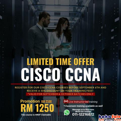Learn CCNA from Industry Expert - Join the Course Kuala Selangor Selangor | hahaSale