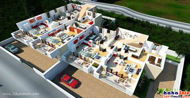 3D Floor Plans for Houses Design by Architectural Rendering Companies - Chicago, Illinois Melor Kelantan   hahaSale