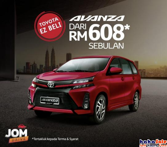 2021 Toyota Avanza 1.5S+ MPV-Price From RM76,790 NEW Puchong Selangor | hahaSale