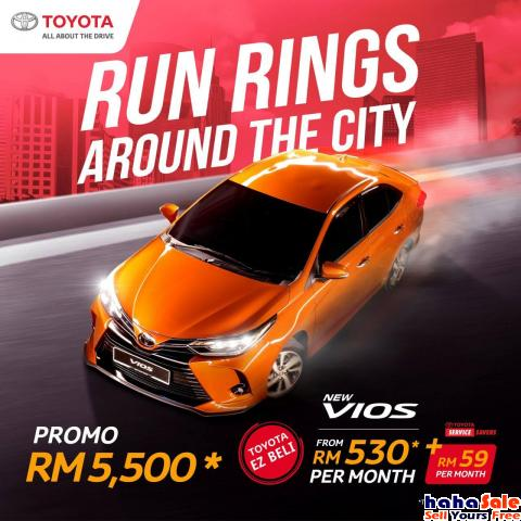 2021 Toyota Vios 1.5J,E,G-Price From RM72,900 NEW Puchong Selangor   hahaSale