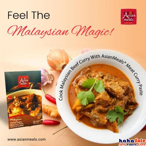 Cook Delicious Meat with AsianMeals® Meat Curry Paste Johor Bahru Johor | hahaSale