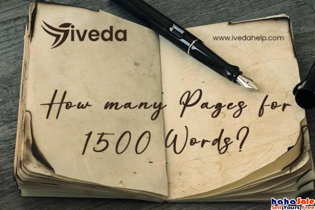 how many pages is 1500 words Kangar Perlis | hahaSale