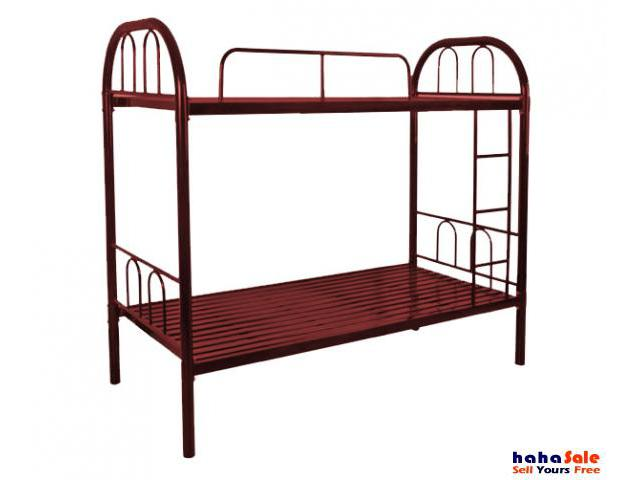 Double decker bed frame with mattresses puchong selangor hahasale - Double decker bed ...