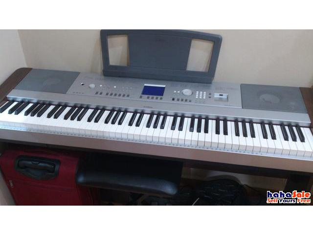 Yamaha dgx 640 fully weighted portable grand for sale bayan baru penang hahasale for Yamaha fully weighted keyboard